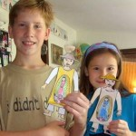 Our Juan Diego paper dolls