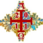 Paschal candle art updated for 2011