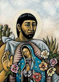 guadalupe and juan diego